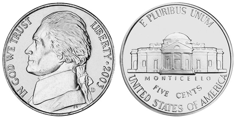 The Jefferson Nickel, a Classic American Coin - Coin