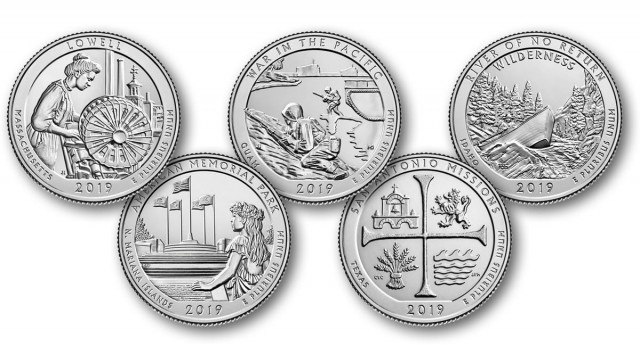 The Rare, New 2019-W America the Beautiful Quarter Dollars