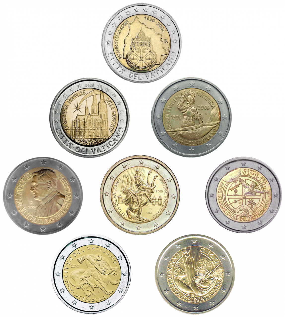 Vatican-coins