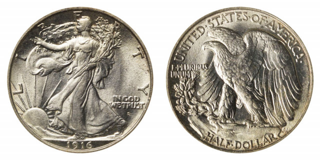 The Walking Liberty Half Dollar, a Beautiful Collectible Coin