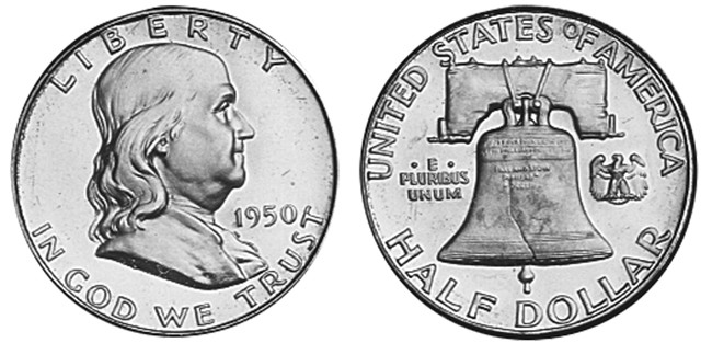 The Franklin Half Dollar, a Popular Collector Coin