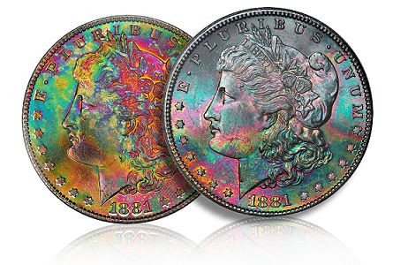 How Does Toning Affect the Value of Collectible Coins?