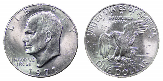 The Eisenhower Dollar and the U.S. Space Program