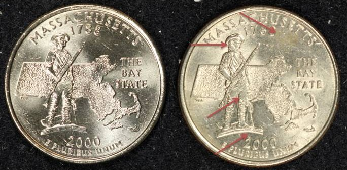 Circulated vs. Uncirculated Coins