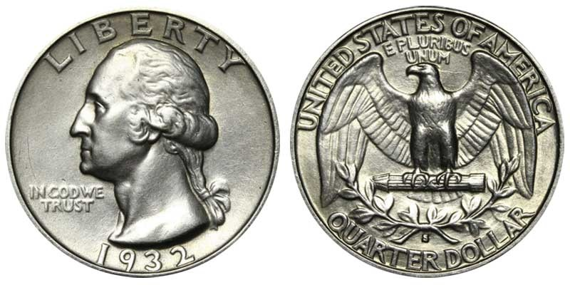 The George Washington Quarter Dollar