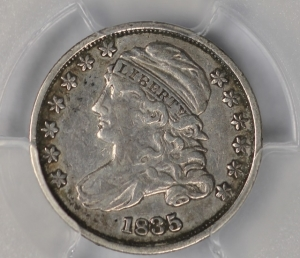 1835 Capped Bust Dime PCGS VF25