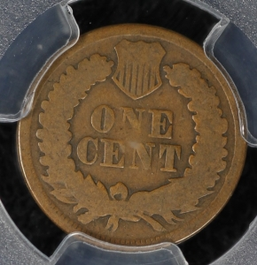 1877 Indian Cent - PCGS AG03