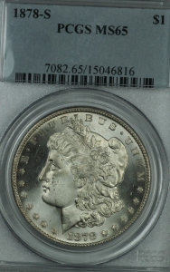 1878 S Morgan Dollar