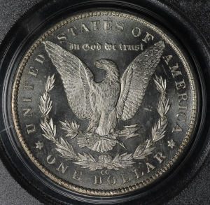 1885-CC Proof Like Morgan Dollar PCGS MS63PL