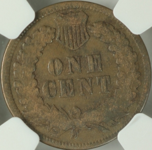 1871 Indian Cent NGC VG 8BN