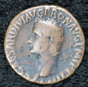 Caligula AE Rome Mint RIC54 SCARCE