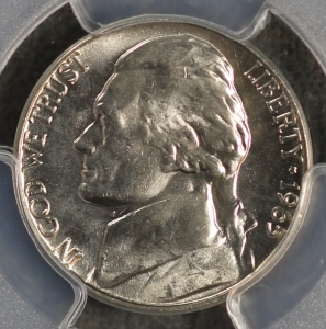 1965 Business Strike Jefferson Nickel PCGS MS66