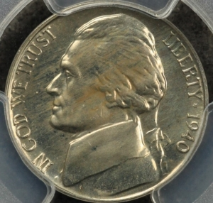 1940 PCGS PR65 Jefferson Nickel