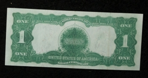 Strong  Black Eagle Silver Certificate
