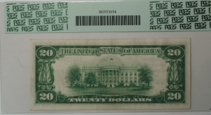 $20 The American National Bank of Grand Rapids Type 1 Note