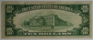 $10 The National Lumbermans Bank of Muskegon - Type 1 Note