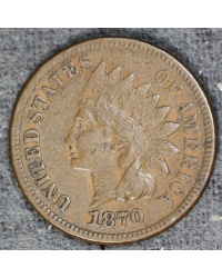 1870 Indian Cent -  Fiine Condittion