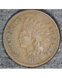 1875 Indian Cent -  ++