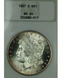 1887 S Morgan Dollar, Fatty