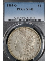 1895-O Morgan Dollar Graded XF40 by PCGS