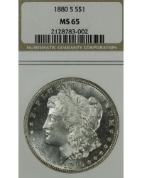 1880 S Morgan Dollar