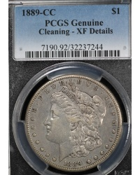 1889 CC PCGS XF Details - Light Cleaning